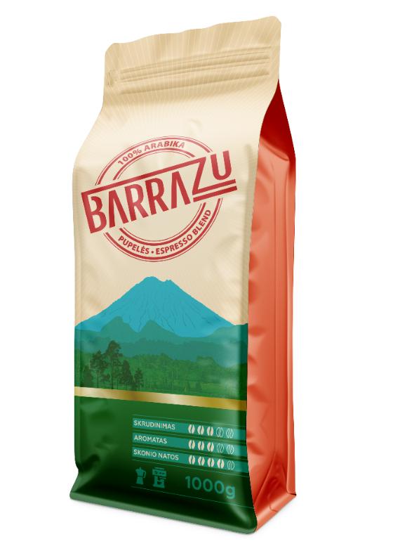 BARRAZU kavos pupelės 1kg.